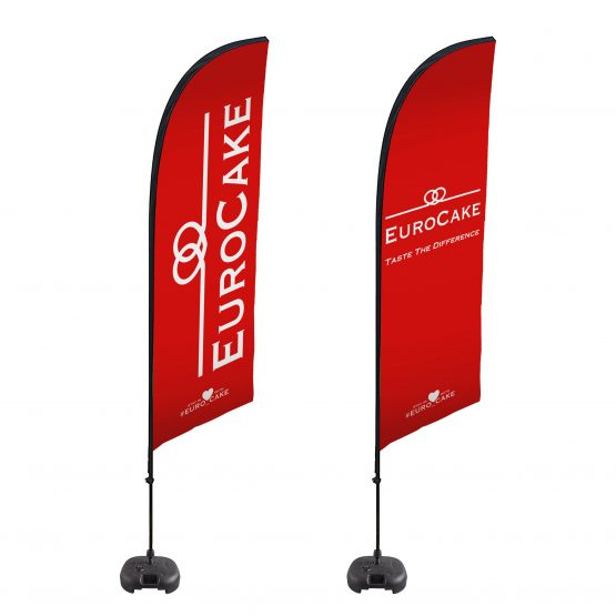 Eurocake Beach Pole Flag