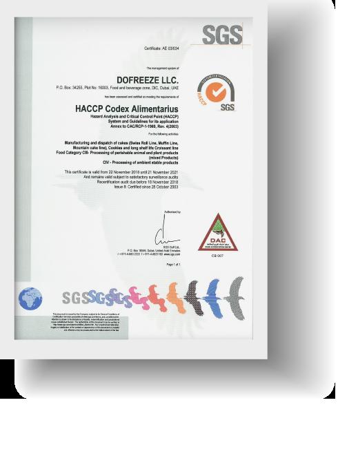 Do-Freeze-HACCP