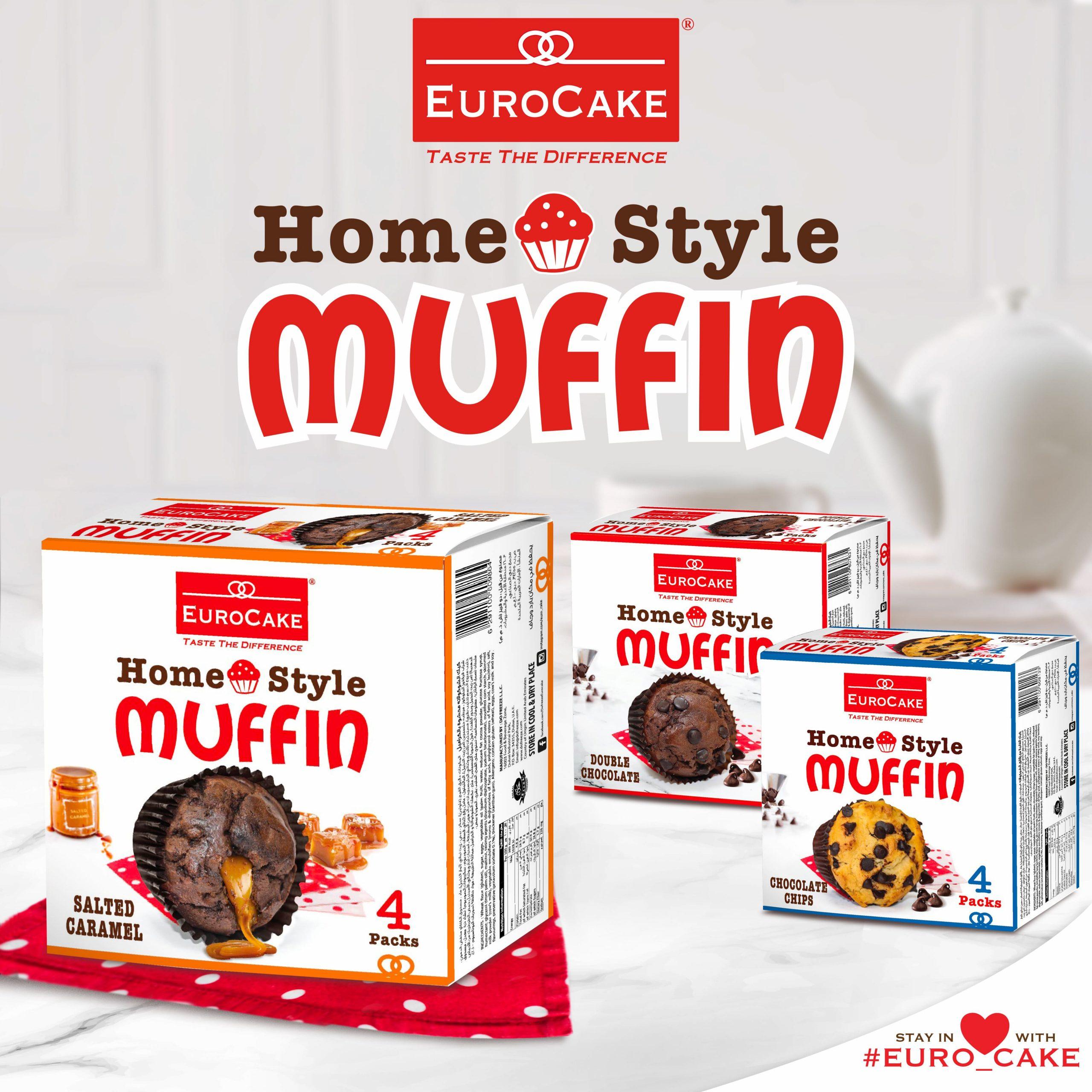 EUROCAKE Homestyle Muffin 4pc - PR
