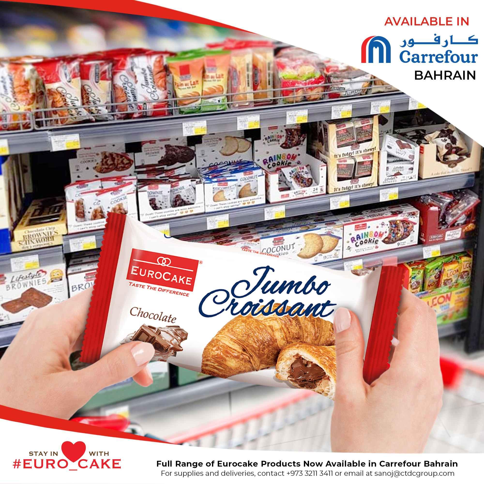 Eurocake in Carrefour Bahrain
