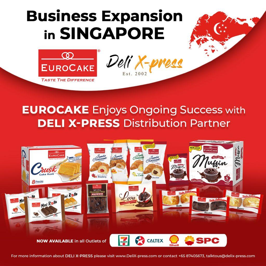 EUROCAKE SUCCESS IN SINGAPORE